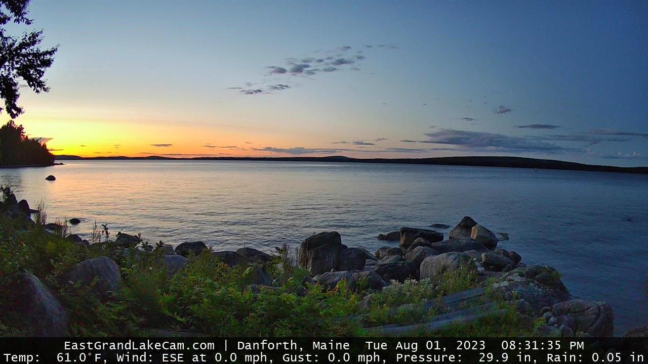 East Grand Lake Webcam